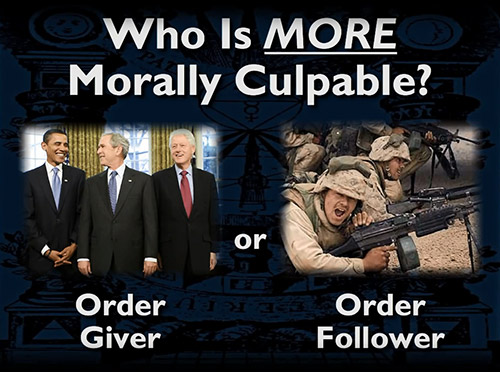 Mark Passio on the moral culpability of order followers