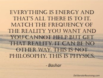 Bashar on matching the frequency of the reality you want